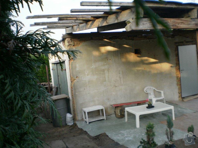 Kompletní rekonstrukce garáže, přístavek pergola: 17-200909_71_