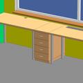 Dva psaci stoly s supliky stoly 01
