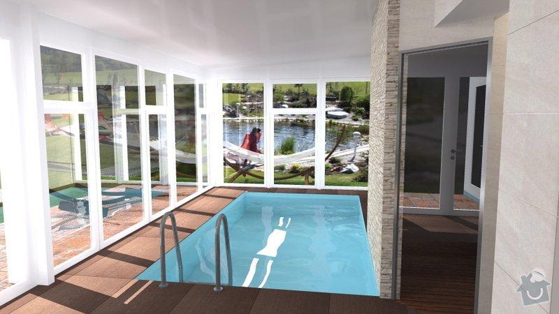 Návrh vnitřního bazénu: wellness_Lipnik_12