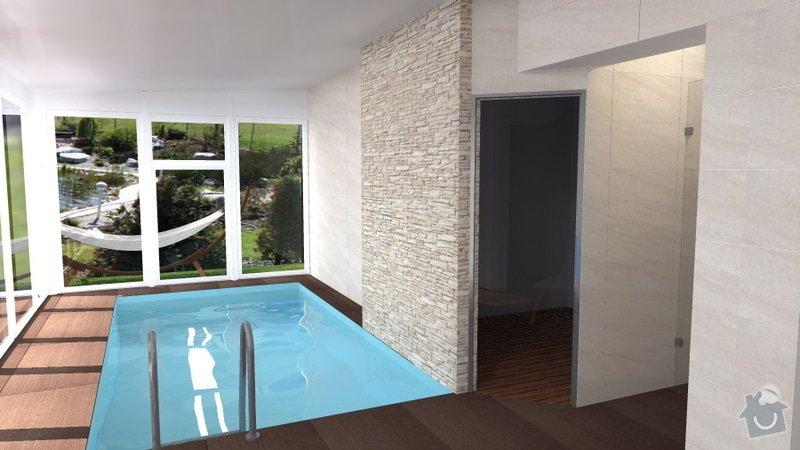Návrh vnitřního bazénu: wellness_Lipnik_13