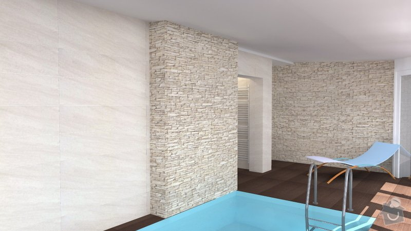 Návrh vnitřního bazénu: wellness_Lipnik_14