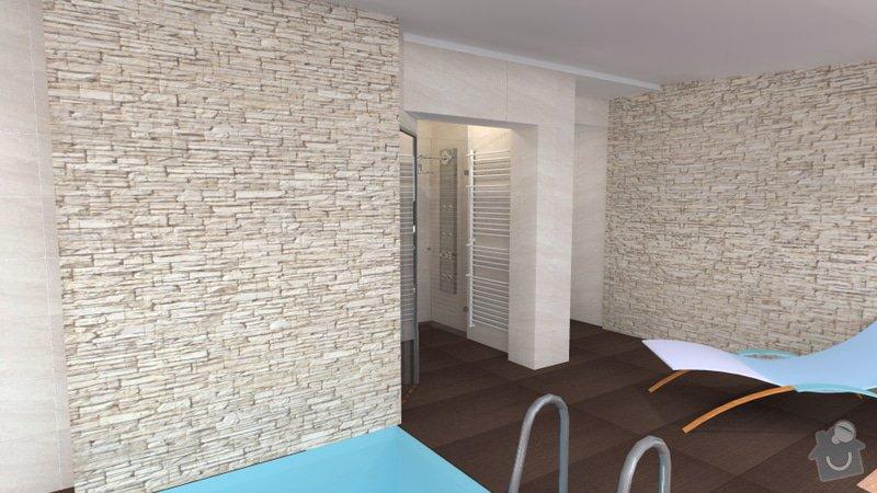 Návrh vnitřního bazénu: wellness_Lipnik_15
