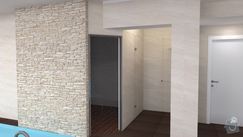 Návrh vnitřního bazénu: wellness_Lipnik_16