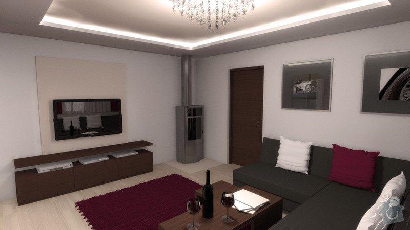Návrh interiéru kuchyně a obývacího pokoje: k_o_5