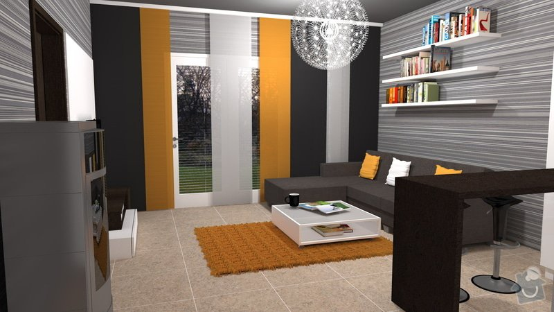 Návrh interiéru velmi malého RD: interier_4