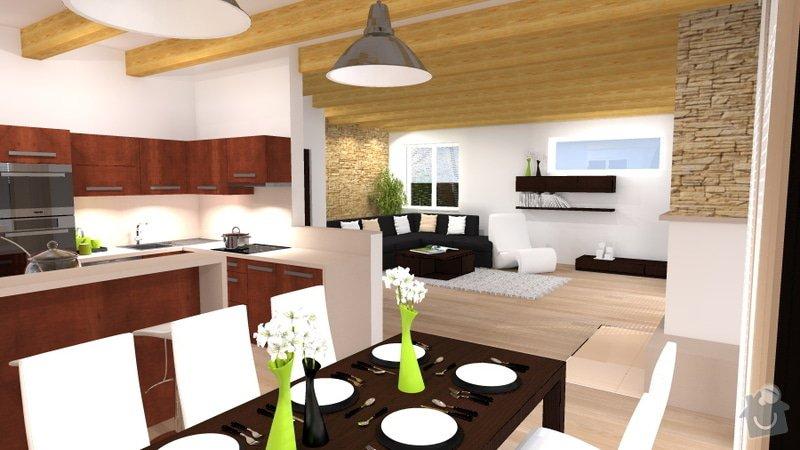 Návrh interiéru novostavby - kuchyň a obývací pokoj: novostavba_3