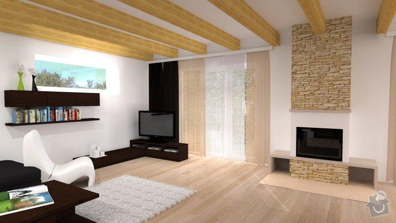 Návrh interiéru novostavby - kuchyň a obývací pokoj: novostavba_5