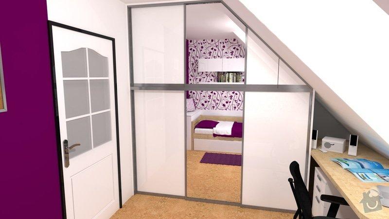Návrh interiéru studentského pokoje: pokoj_1
