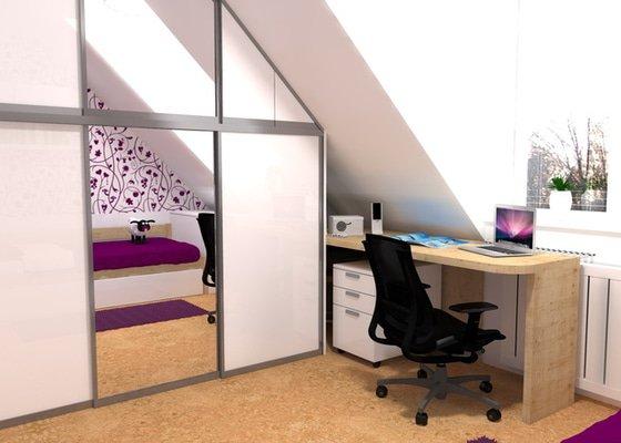 Návrh interiéru studentského pokoje