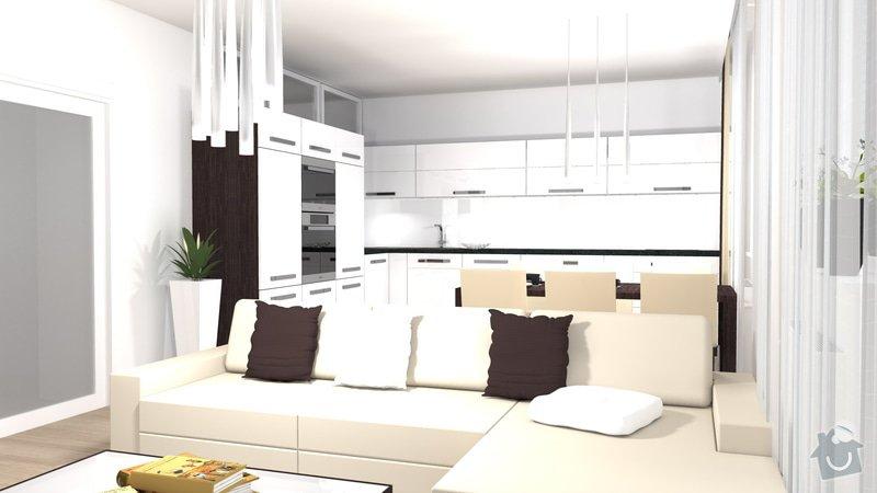 Návrh a vizualizace kuchyně a obývacího pokoje: kuchyn_obyvak_2
