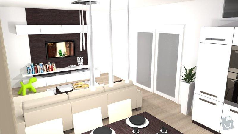 Návrh a vizualizace kuchyně a obývacího pokoje: kuchyn_obyvak_4