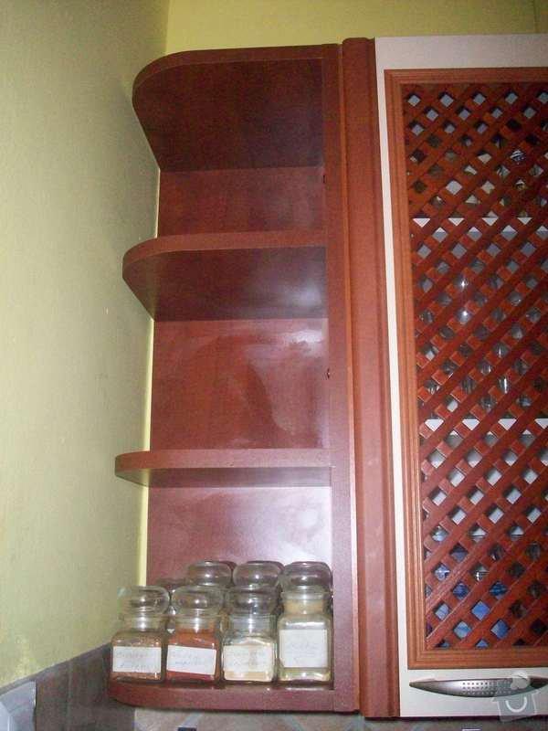 Výroba psacího stolu a poličky na míru: 100_4849
