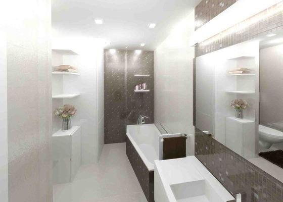 Návrh a realizace luxusní koupelny a chodby