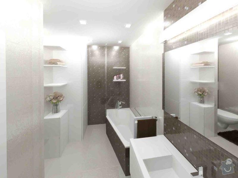 Návrh a realizace luxusní koupelny a chodby: koupelna_chodba_karasova_01