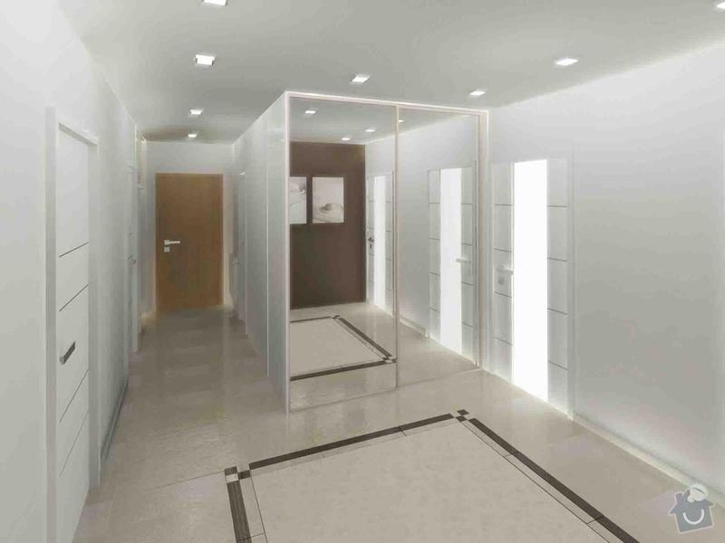 Návrh a realizace luxusní koupelny a chodby: koupelna_chodba_karasova_06