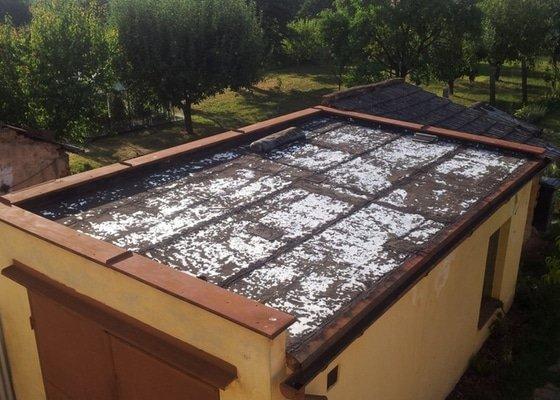 Hydroizolace ploché střechy garáže