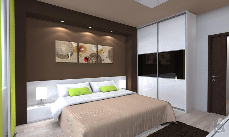 Návrh moderní ložnice: loznice_1