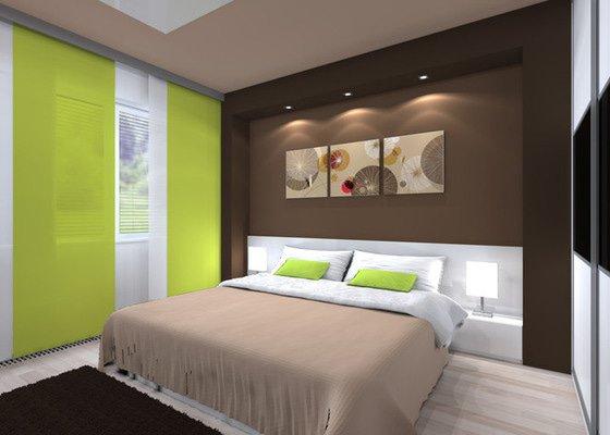 Návrh moderní ložnice