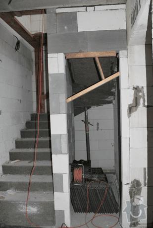 Obložení schodů v RD dřevem a MDF deskou: Schody_2