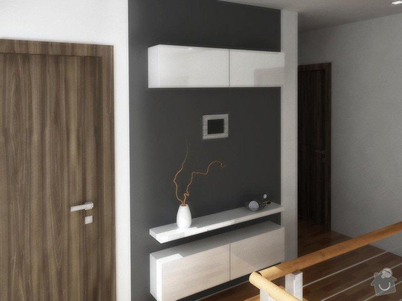 Návrh interiéru moderní novostavby RD: chodba_karasova_1