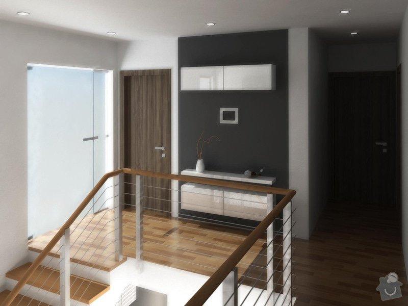 Návrh interiéru moderní novostavby RD: chodba_karasova_2