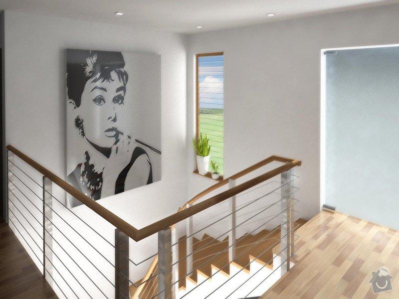 Návrh interiéru moderní novostavby RD: chodba_karasova_3