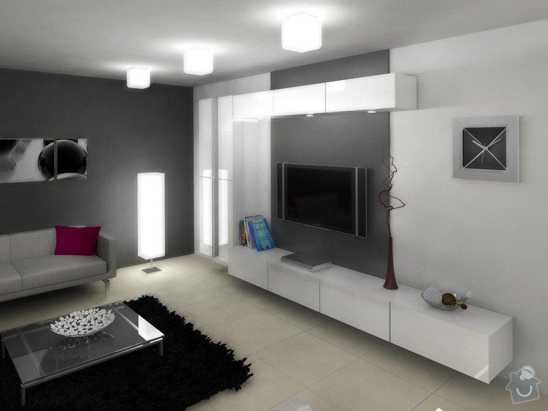 Návrh interiéru moderní novostavby RD: obyvak_karasova_1