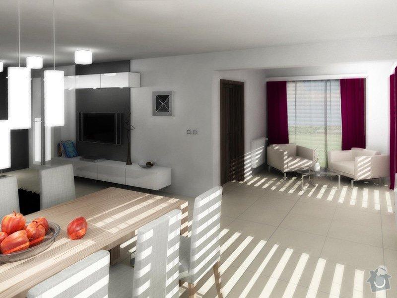 Návrh interiéru moderní novostavby RD: obyvak_karasova_2