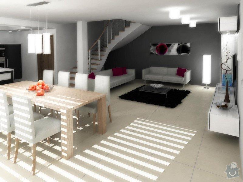 Návrh interiéru moderní novostavby RD: obyvak_karasova_3