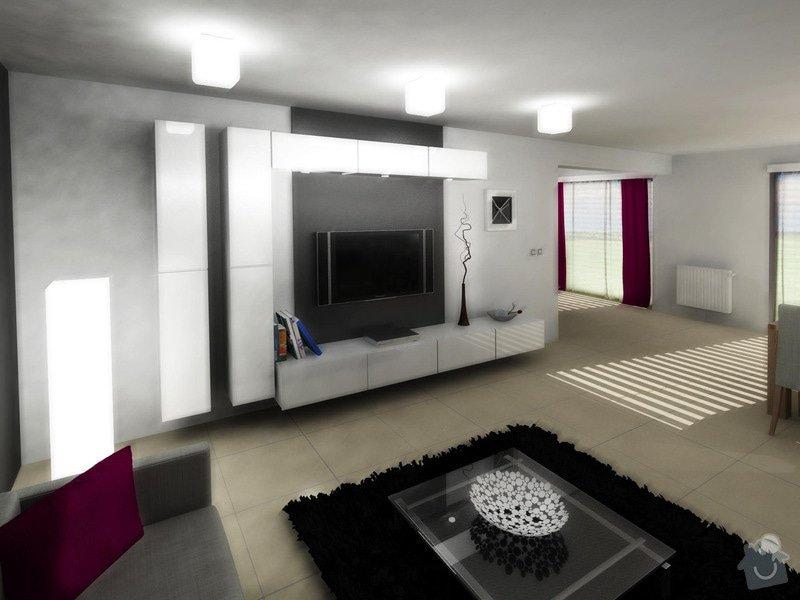 Návrh interiéru moderní novostavby RD: obyvak_karasova_4