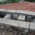 Oprava kominu provizorni oprava strechy komin02