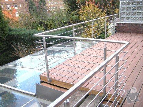 Nerezové zábradlí na balkón rodinného domu: obr3