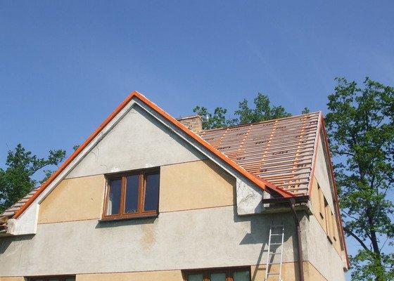 Rekonstrukce a zateplení střechy