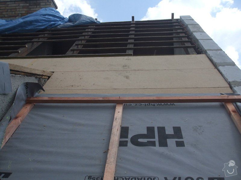Rekonstrukce a zateplení střechy: Strecha_Plana_002