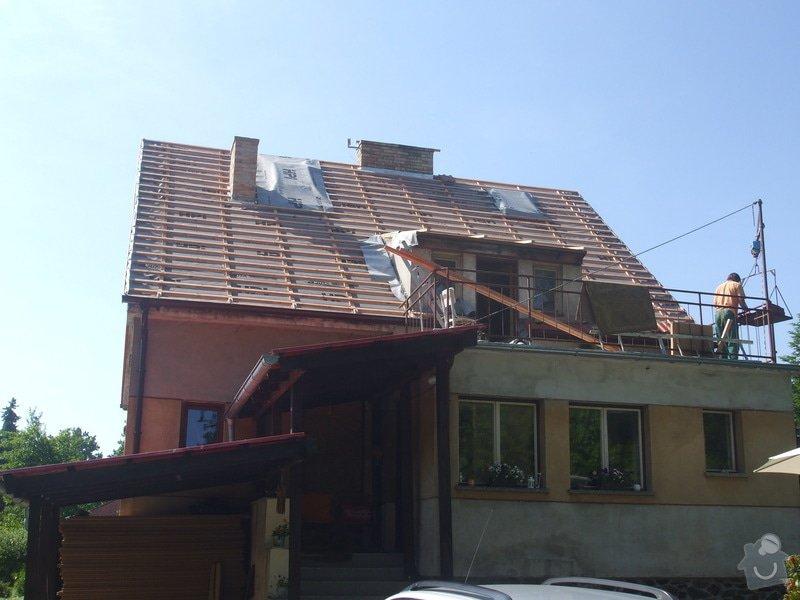 Rekonstrukce a zateplení střechy: Strecha_Plana_025
