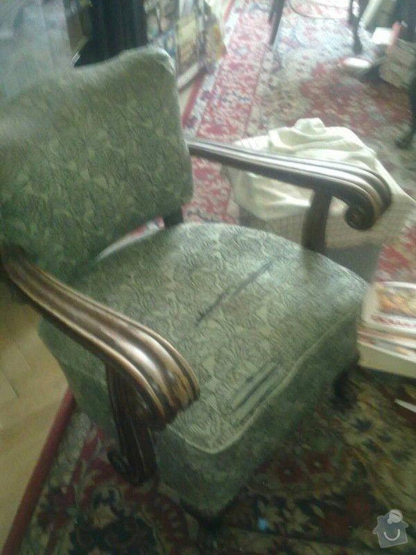Čalounění židlí, křesel a matrací: 2_kreslo