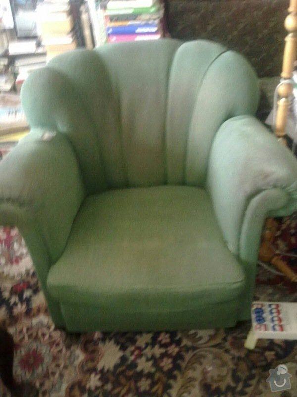 Čalounění židlí, křesel a matrací: 3_kreslo