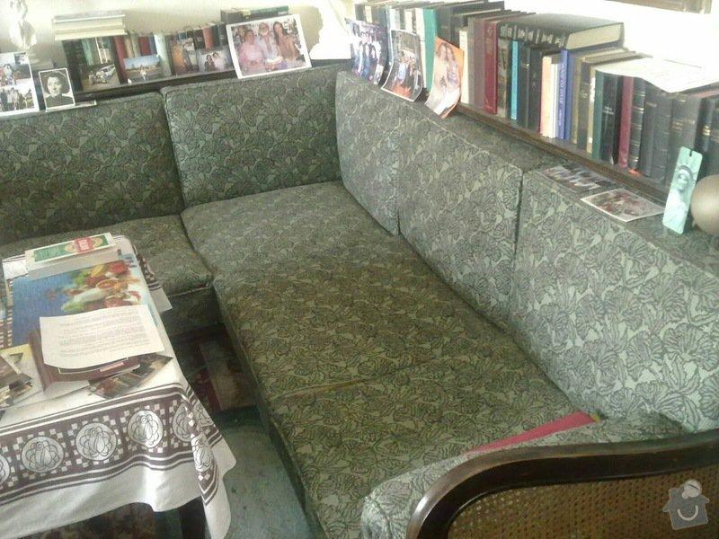 Čalounění židlí, křesel a matrací: 4_sedacka