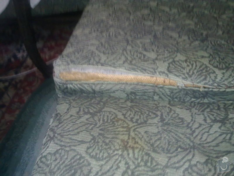 Čalounění židlí, křesel a matrací: 5_sedacka_detail