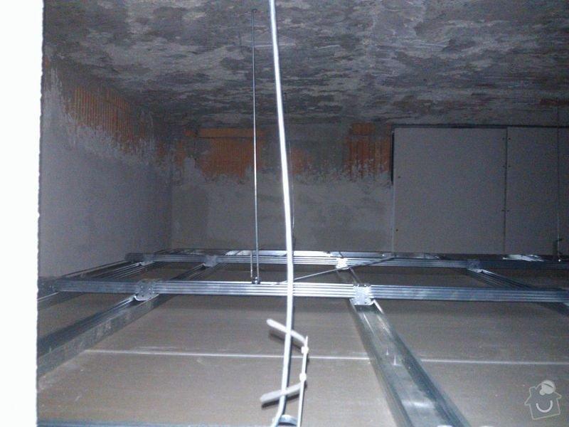 Úprava sádrokartonového podhledu: 01-Podhled-okno