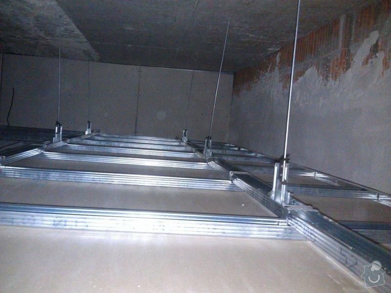 Úprava sádrokartonového podhledu: 03-Podhled-pokoj