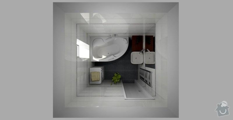 Rekonstrukce koupelny: VIZ_