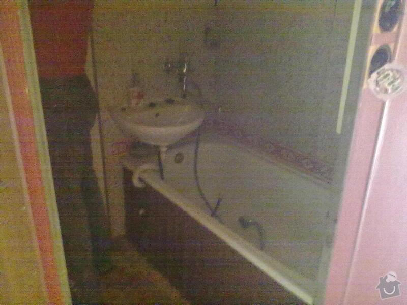 Rekonstrukce bytového jádra ve zděné bytovce : 01012011408