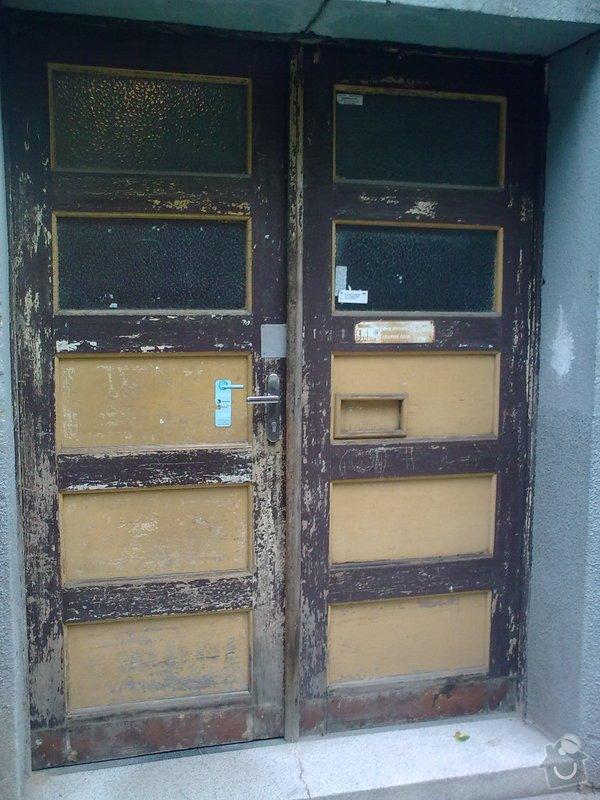 Repase masivních vchod.dveří-truhlář.práce: Obraz0286