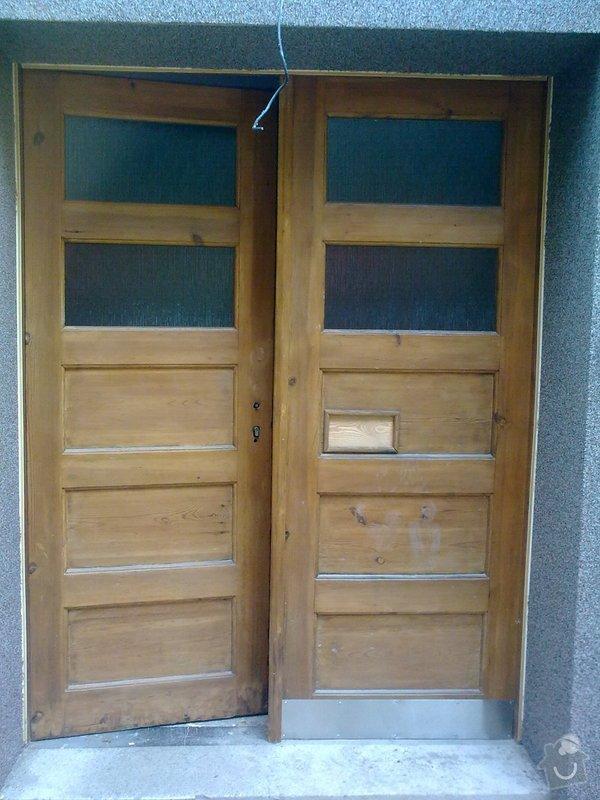 Repase masivních vchod.dveří-truhlář.práce: Obraz0452