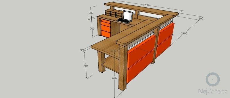 Výroba stolu do vstupní haly firmy: PTS_stul_3