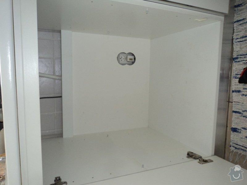 Konzultace a instalace horkovzdušné trouby do linky: DSC01682