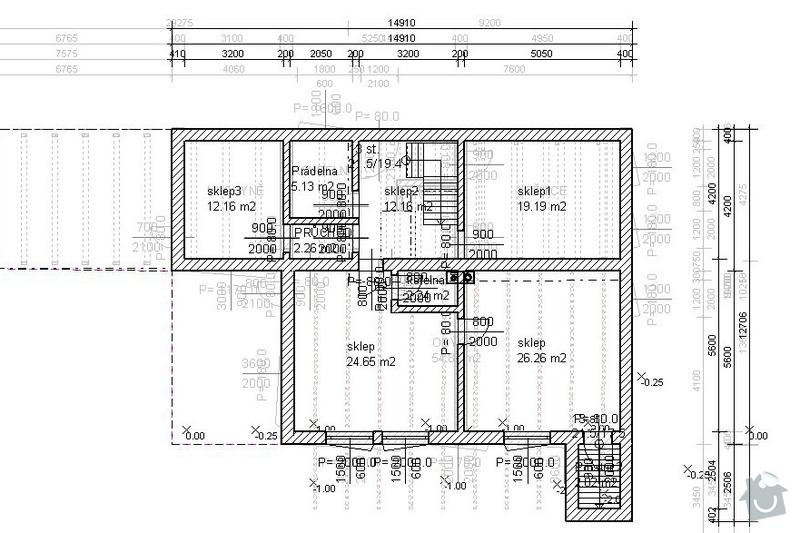 Hrubá stavba RD: _6sklep