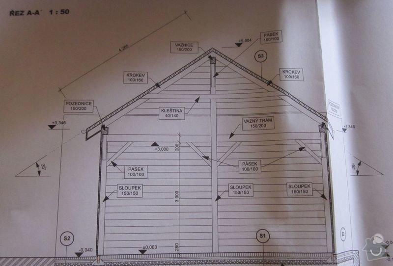 Pokládka střešní krytiny: strecha1