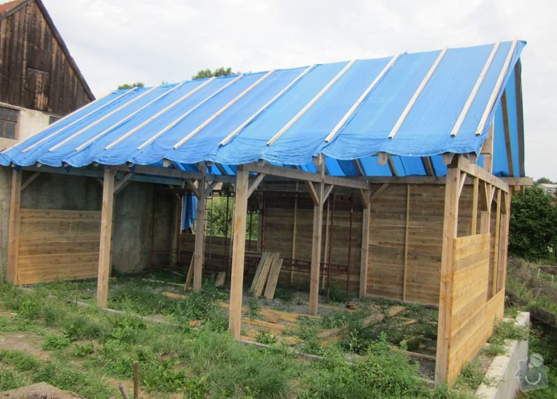 Pokládka střešní krytiny: strecha3